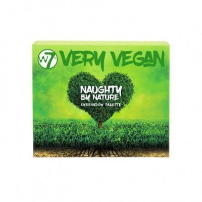 W7 Very Vegan Naughty by Nature Eyeshadow Palette
