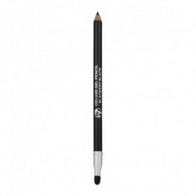 W7 Super Gel Deluxe Eyeliner - BLACKEST BLACK