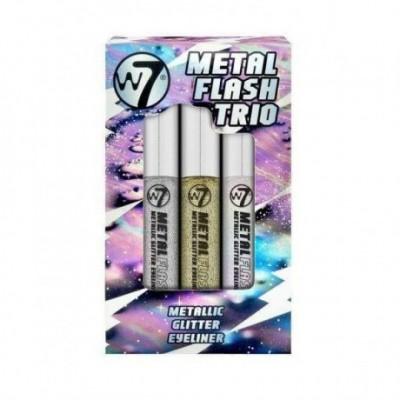 W7 Metal Flash Trio Metallic Glitter Eyeliner