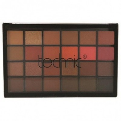 Technic 24 Eyeshadows Palette - THE HEAT IS ON