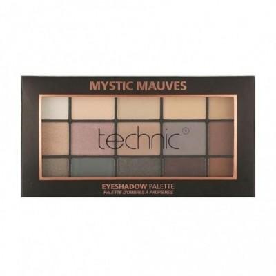 Technic 15 Eyeshadows Palette - MYSTIC MAUVES