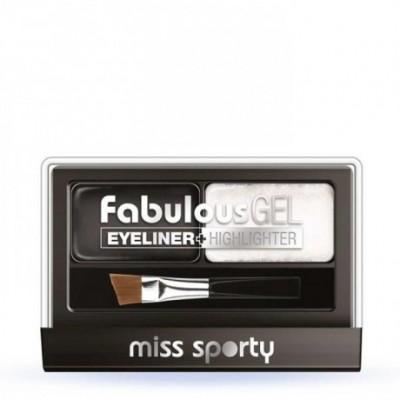 Miss Sporty Fabulous Gel Eyeliner + Highlighter - 001...