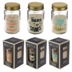 Summer Fragranced Candle Jar - Slogans