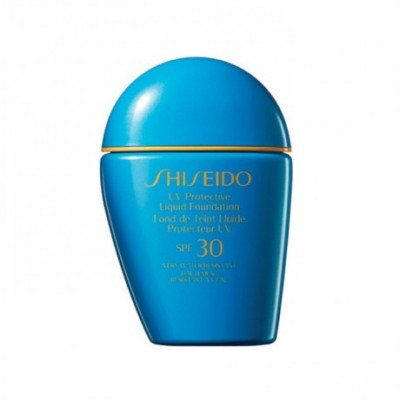 Shiseido Uv Protective Liquid Foundation Medium Beige...