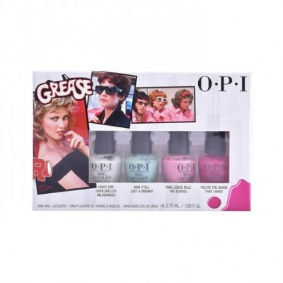 Opi Nail Lacquer Grease Collection Gift Set 4x3.75ml