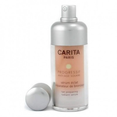 Carita Progressif Anti Age Solaire Tan Preparing Radiant...