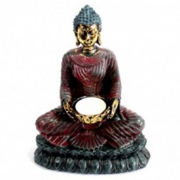 Buddha Devotee Candle Holder