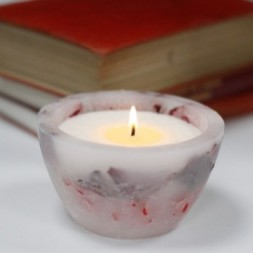 Enchanted Candle - Large Bowl - Rose