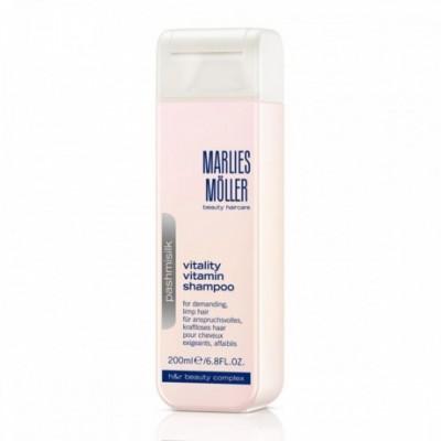 Marlies Moller Pashmisilk Vitalty Vitamin Shampoo 200ml