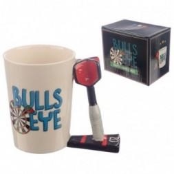 Dart Handle Bulls Eye Mug