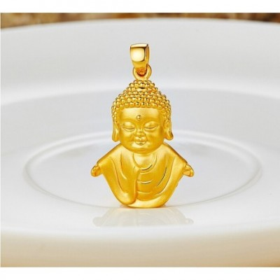 Buddha 24k Gold Pendant