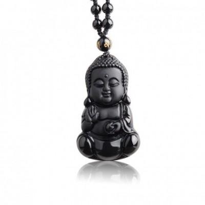 Cute Buddha Amulet Necklace