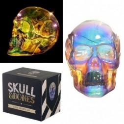 LED Light - Metallic Iridescent Skull