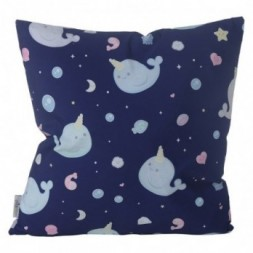 Cushion with Insert -  Narwhal