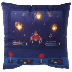 LED Cushion - Game Over Design