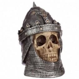 Skull in Saladin Helmet Ornament