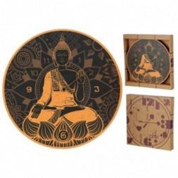 Thai Buddha Wall Clock