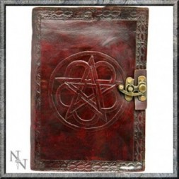 Pentagram Leather Embossed Journal