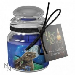 Luck Spell Candle - Sandalwood