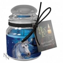 Unicorn Health Spell Candle - Aloe Vera