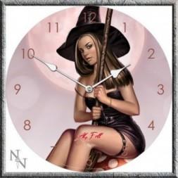 Rowan The Witch Next Door Clock