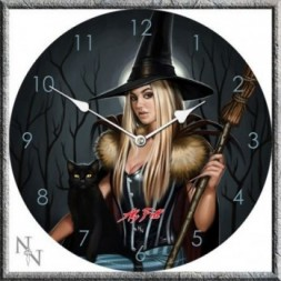 The Winter Witch Clock