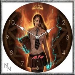 Necromancer  Gothic Clock