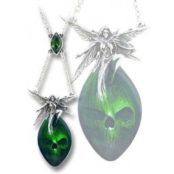 Absinthe Fairy Necklace Pendant