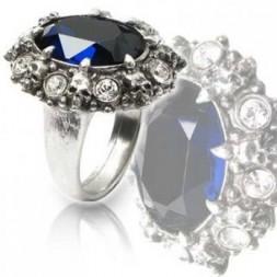 Dark Engagement Ring