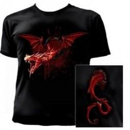 The Devil Travails Goth T Shirt