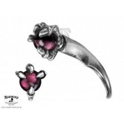 Dragon Orb Claw - Fake Stretcher Earring