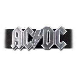 AC/DC  logo Pewter Buckle