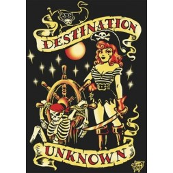 Destination Unknown Goth T Shirt