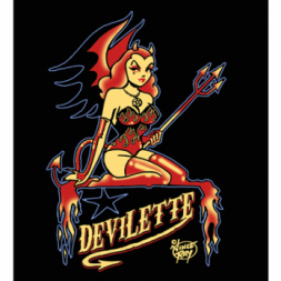 Demon Girl Goth T Shirt