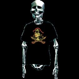 Pirate Gal Goth T Shirt