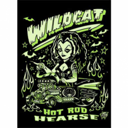 Hot Rod Hearse  Goth T Shirt