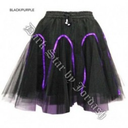 Fairy Ribboned  Goth Tutu Skirt