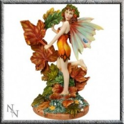 Autumn Leaf Fairy Figurine