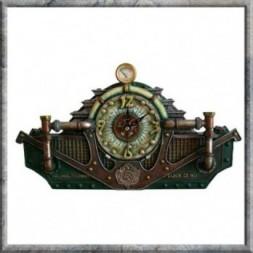 Steampunk  Conversion Time Unit - clock
