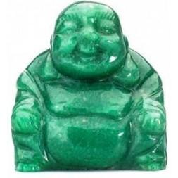 Aventurine Green Buddha Statue