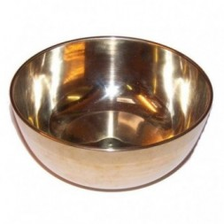 Brass Singing Bowl - Large -