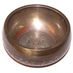 Large Ganesh Singing Bowl