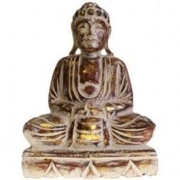 Dhyana Mudra Buddha Wooden Statue