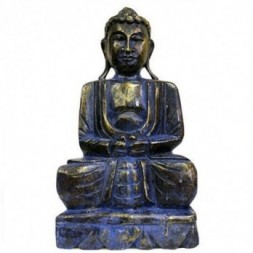 Blue Golden Buddha Statue