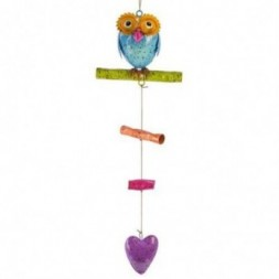 Colourful Professor Owl Mobile