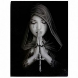 Gothic Prayer Canvas Picture