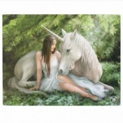 Unicorn Pure Heart Canvas Picture