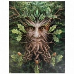 Tree Man Canvas Picture