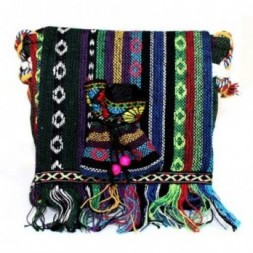 Tibetan Fringe Bag - Sml Over Flap and Pouch