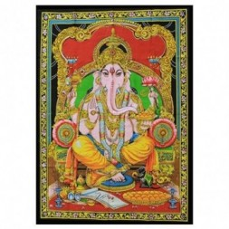Indian Wall Art Print - Ganesh